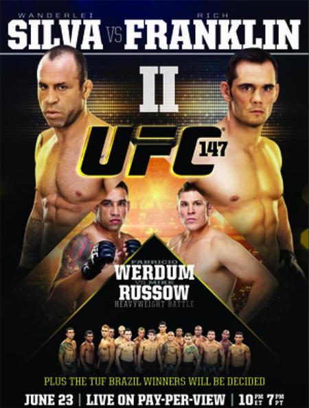 UFC 147 Silva vs Franklin 2 Poster pic