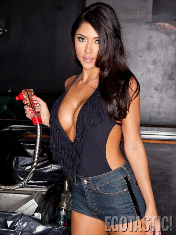 UFC Arianny Celeste Viper Room Black Top 1
