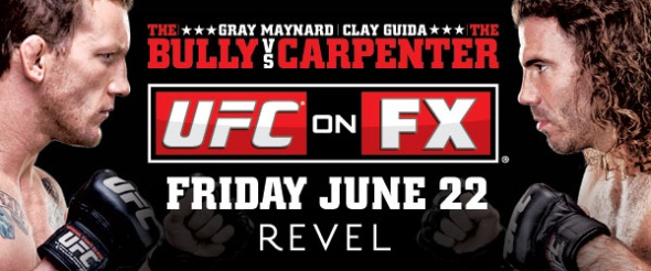 UFC on FX 4 UFC Poster Pic