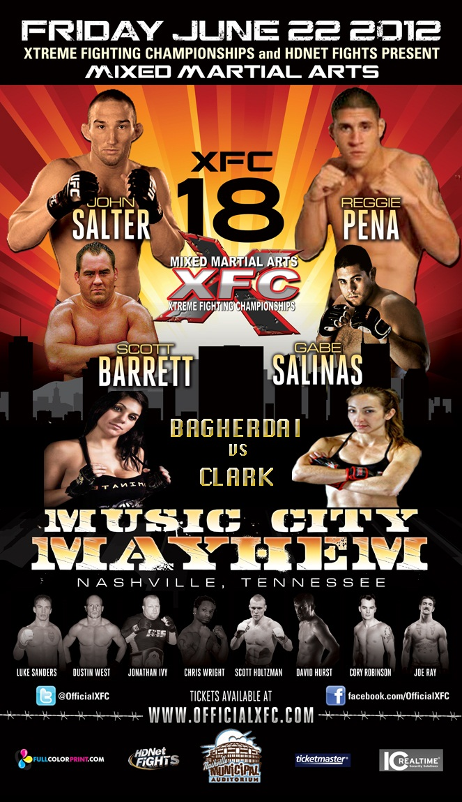 XFC 18 Poster Pic