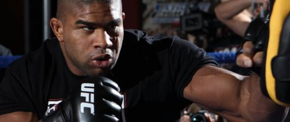 Alistair Overeem ufc training pic gallery