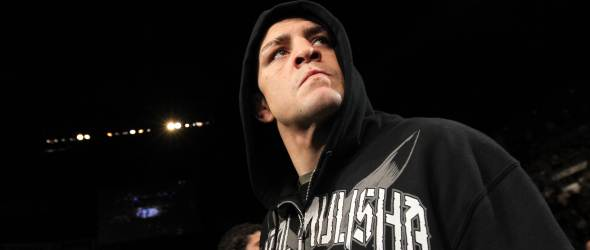 Nick Diaz fight Anderson Silva gallery