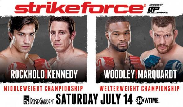 Strikeforce Rockhold vs Kennedy