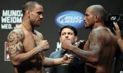 Te Huna vs Beltran weigh in pic