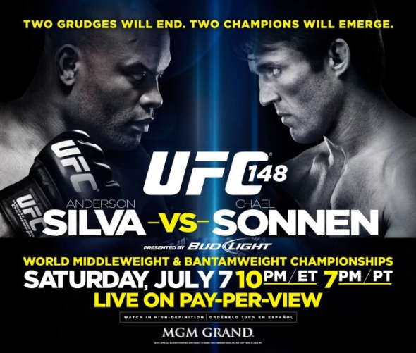 UFC 148 Poster pic