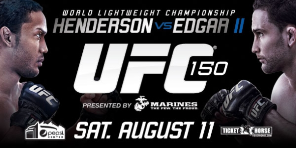 UFC 150 Poster Pic