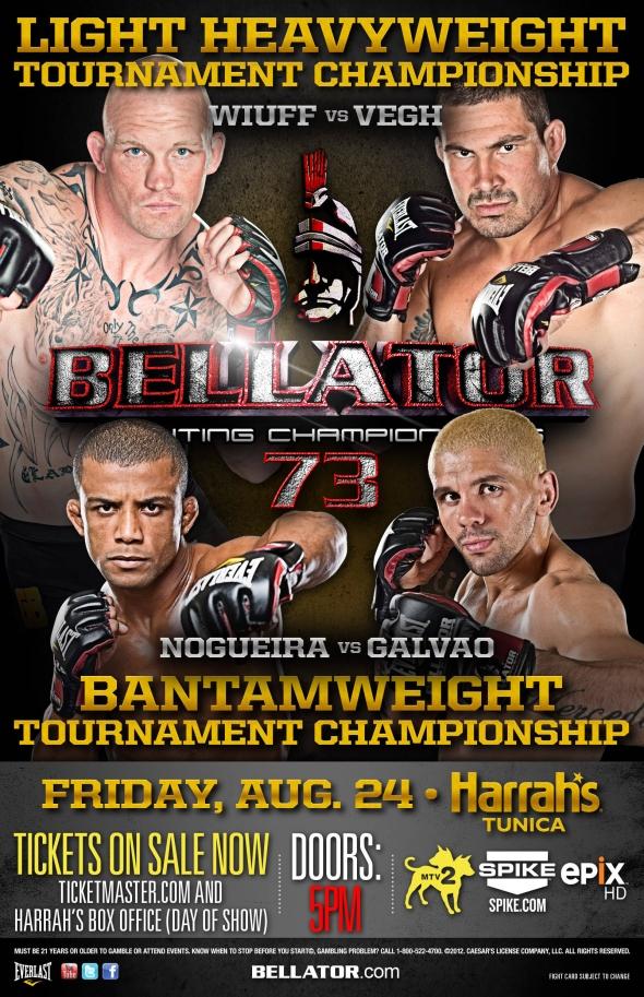 Bellator 73 poster pic