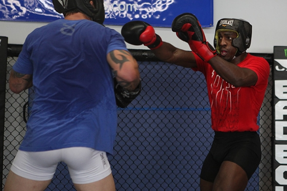 Phil Davis MMA Training 2