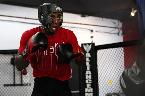 Phil Davis MMA Training 5