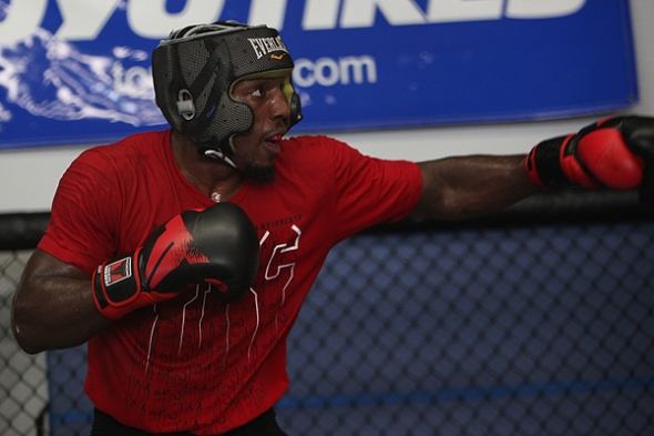 Phil Davis MMA Training 6