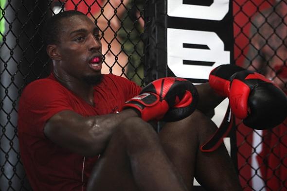 Phil Davis MMA Training 9