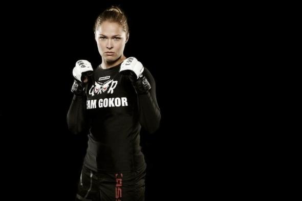 Ronda Rousey female MMA pic