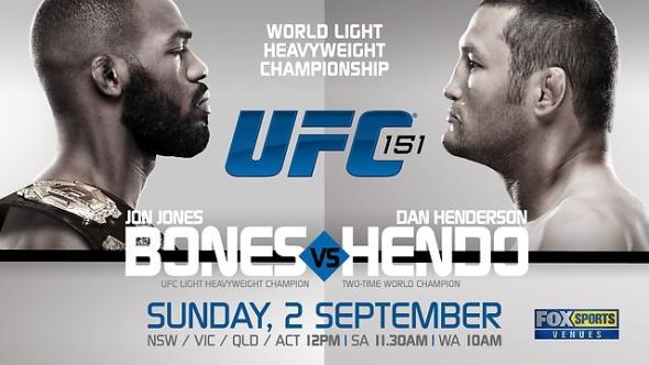 UFC 151 poster fight night