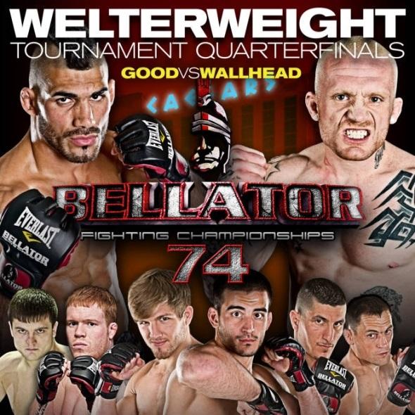 Bellator 74 poster image thumbnail