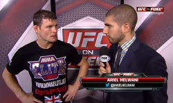 UFC 152 Post Fight Interview: Bisping Reflects On Difficult Win over Stann