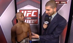 UFC 152 Post Fight Interview: 'Mighty Mouse' Talks Flyweight Title Win Over Benavidez