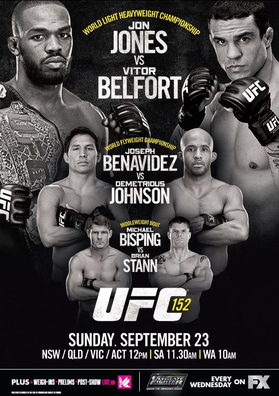 UFC 152 poster pic new