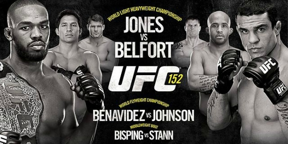 UFC 152 poster pic