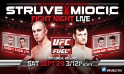 UFC on FUEL TV 5 'Struve vs. Miocic' Fight Card and Schedule In England (Sept 29)