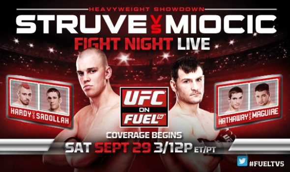 UFC on FUEL TV 5 poster