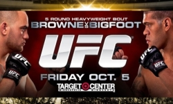 UFC on FX 5 'Browne vs Bigfoot' Fight Card and Schedule In Minnesota (Oct 5)