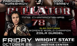 Bellator 78 Fight Card and Schedule In Ohio – October 26 on MTV 2