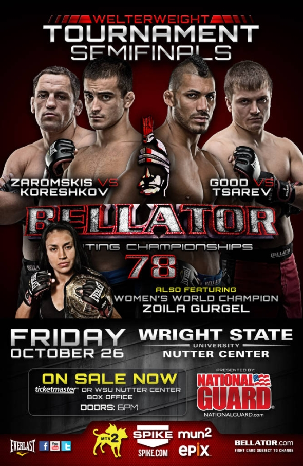 Bellator 78 Poster Pic