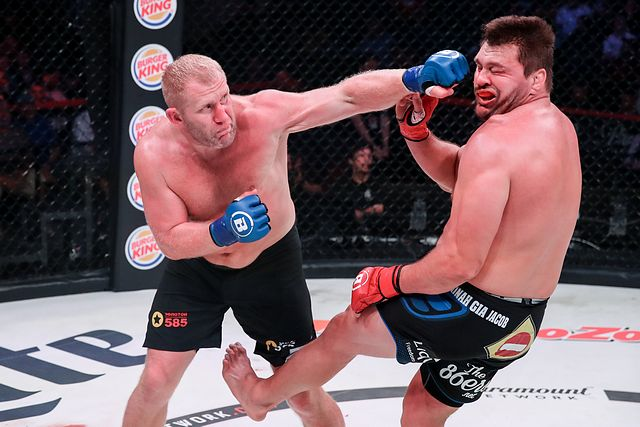 Kharitonov defeats Mitrione Bellator 225