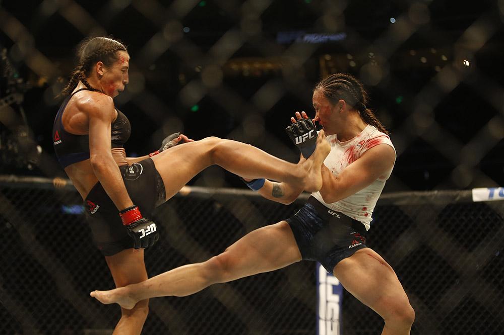MMA: UFC Fight Night-Tampa-Jedrzejczyk vs Waterson